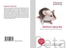 Bookcover of Dollman's Spiny Rat