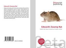 Bookcover of Edward's Swamp Rat
