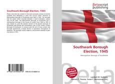Southwark Borough Election, 1945 kitap kapağı