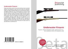 Bookcover of Underwater Firearm