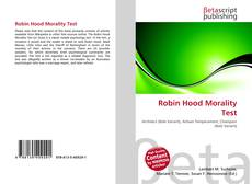 Bookcover of Robin Hood Morality Test