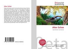 Alter Schee kitap kapağı