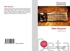 Bookcover of Alter Kacyzne