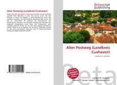 Capa do livro de Alter Postweg (Landkreis Cuxhaven)