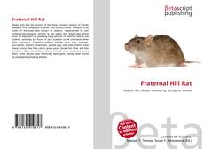 Bookcover of Fraternal Hill Rat