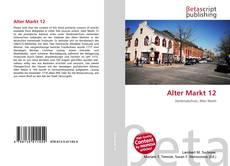 Bookcover of Alter Markt 12