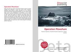 Bookcover of Operation Plowshare