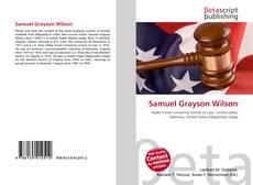 Capa do livro de Samuel Grayson Wilson