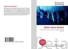 Capa do livro de Robin Hood (Ballet)