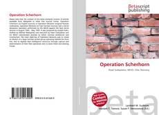 Copertina di Operation Scherhorn
