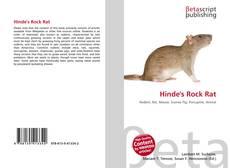 Bookcover of Hinde's Rock Rat