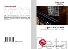 Capa do livro de Operation Sinaloa