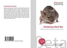 Bookcover of Kimberley Rock Rat