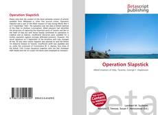 Capa do livro de Operation Slapstick