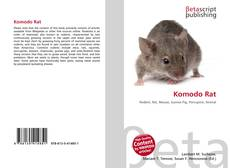 Bookcover of Komodo Rat