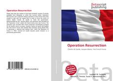 Bookcover of Operation Resurrection