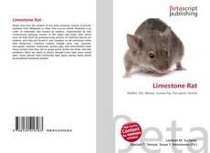 Bookcover of Limestone Rat