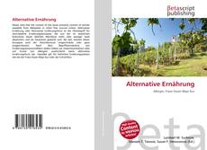 Capa do livro de Alternative Ernährung