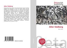 Alter Stolberg kitap kapağı