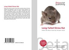 Bookcover of Long-Tailed Shrew Rat