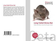 Borítókép a  Long-Tailed Shrew Rat - hoz