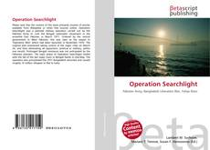 Buchcover von Operation Searchlight