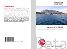 Capa do livro de Operation Shed