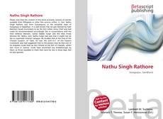 Capa do livro de Nathu Singh Rathore