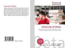 Обложка University of  Silesia