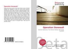 Capa do livro de Operation Stonewall