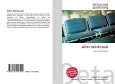 Capa do livro de Alter Wartesaal