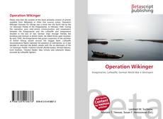 Capa do livro de Operation Wikinger