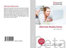 Bookcover of Alternate Reality Game