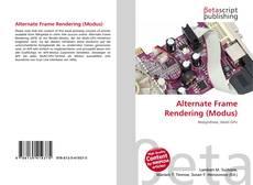 Portada del libro de Alternate Frame Rendering (Modus)