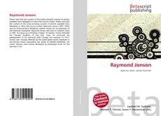 Buchcover von Raymond Jonson