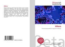 Buchcover von Altera