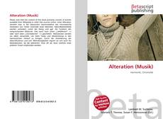 Bookcover of Alteration (Musik)