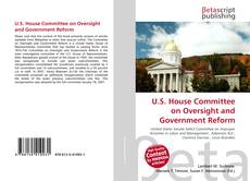 Capa do livro de U.S. House Committee on Oversight and Government Reform