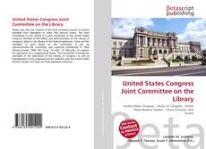 Обложка United States Congress Joint Committee on the Library