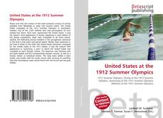Bookcover of United States at the 1912 Summer Olympics
