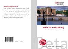Buchcover von Baltische Ausstellung