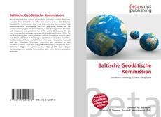 Baltische Geodätische Kommission kitap kapağı