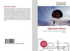 Capa do livro de Operation Titanic
