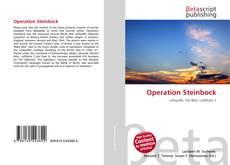 Capa do livro de Operation Steinbock