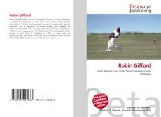 Bookcover of Robin Gifford