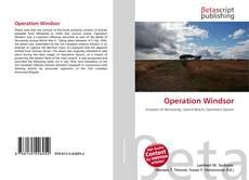 Capa do livro de Operation Windsor
