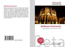 Copertina di Balthasar Estermann
