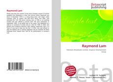 Bookcover of Raymond Lam
