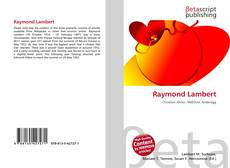 Bookcover of Raymond Lambert