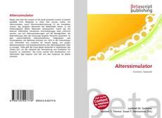 Alterssimulator kitap kapağı
